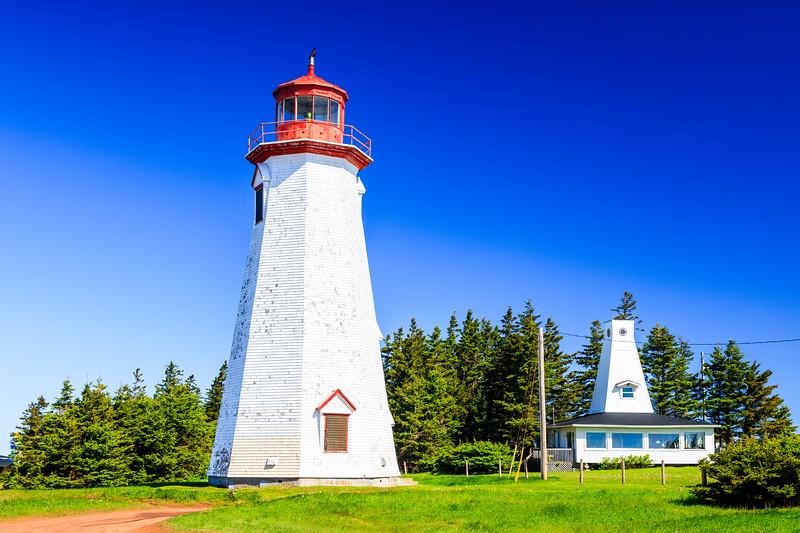 CANADA-PRINCE EDWARD ISLAND-Seacow Head-Seacow Head Lighthouse