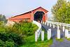 Canada-Quebec-Notre-Dame-des-Pins-Pont couvert Perrault [covered bridge]