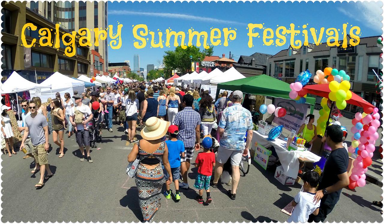Calgary summer festivals