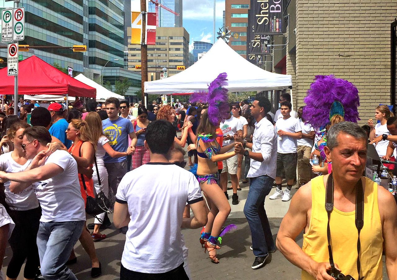 Lilac Festival dancing