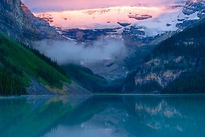 Lake Louise in Banff National Park, Alberta Canada
