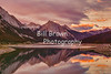 Sunset Reflections at Medicine Lake, Jasper National Park