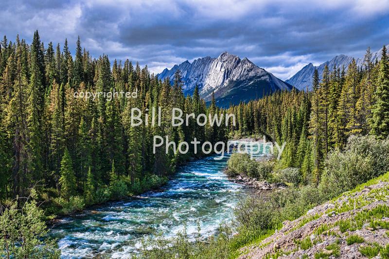 Maligne River, Jasper National Park, AB