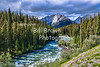 Maligne River, Jasper National Park, AB