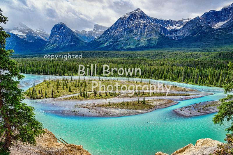 Athabasca River, Jasper National Park, AB