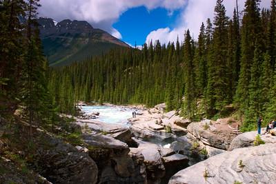 Sunwapta Falls, Jasper National Park, Alberta Canada