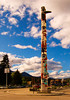 First Nations People Totem Pole, Jasper Townsite