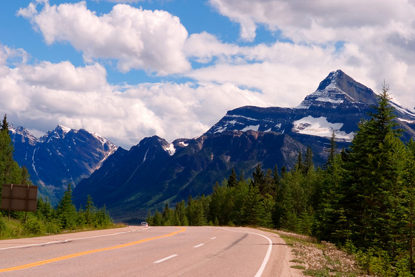 The Icefields Parkway, Jasper National Park, Alberta Canada
