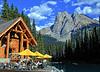 "Emerald Lake Lodge & ""Sleeping Indian Mt"""