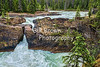 Natural Bridge , on the Kicking Horse River, BC