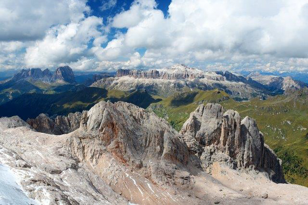 Marmalada Mountains from the Top