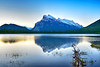Reflection on Vermillion Lakes