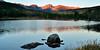 Sunrise and rocks