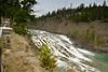 Bow Falls and horizontal