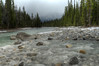 Wonderful river flowing and rocks