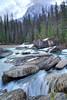 Misted rapids on Yoho