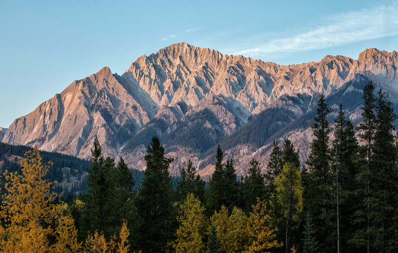 Peak near Banff