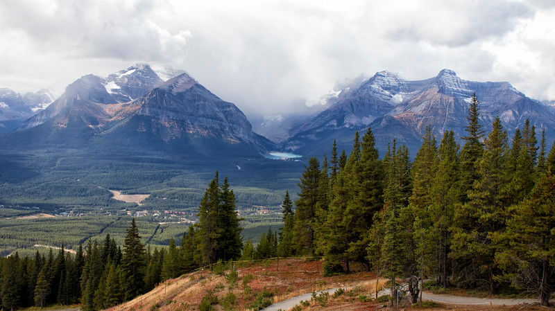 Banff National Park with Lake Louise