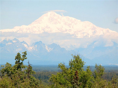 Denali is the highest mountain in North America, t
