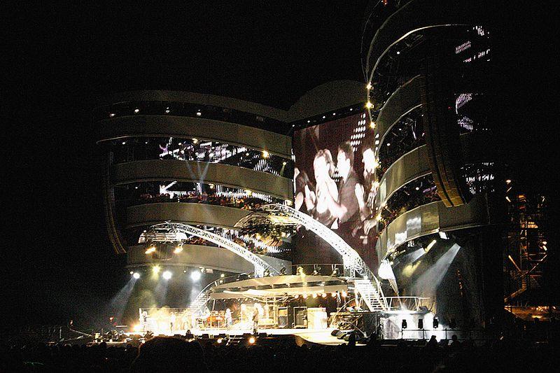 concert des Rolling Stones à Moncton (4/09/2005)