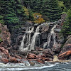 Cape Breton Waterfall