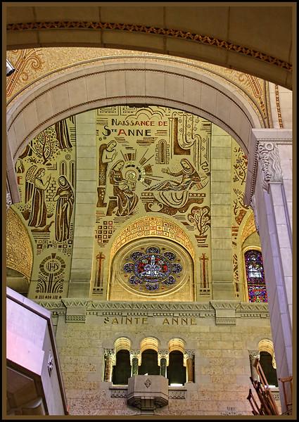 Ste-Anne-de-Beaupré Shrine and Basilica-Quebec City, Quebec, Canada