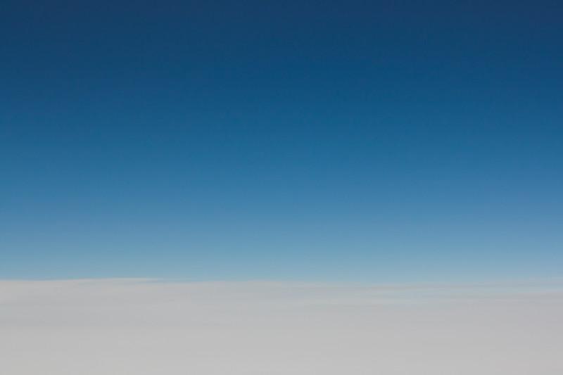 Volando sobre Canadá