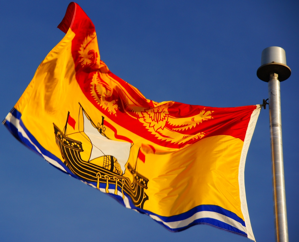 Flag of New Brunswick, Canada