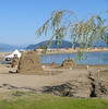 Sand sculpture  <br /> Harrison Hot Springs