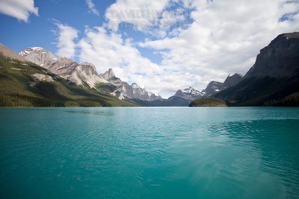 Maligne Lake - Glacial Side