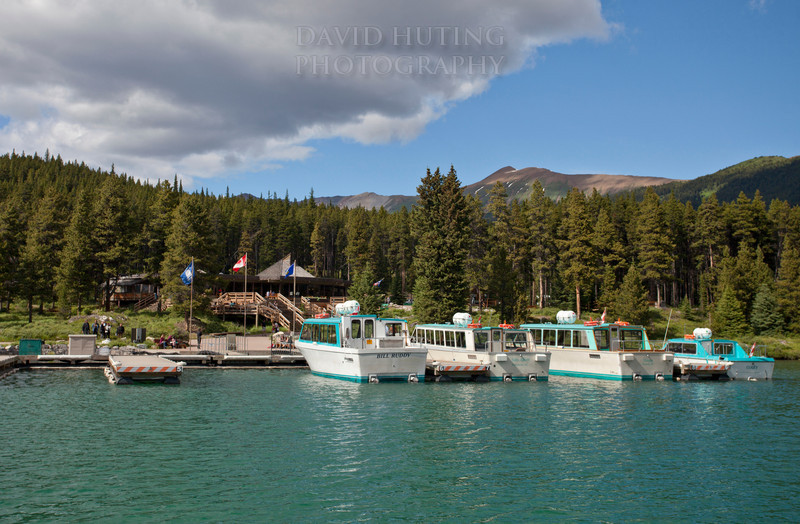Maligne Lake Harbor