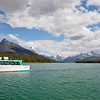 Maligne Lake Cruise Boats Coming In