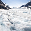 Columbia Icefield Glacier vertical