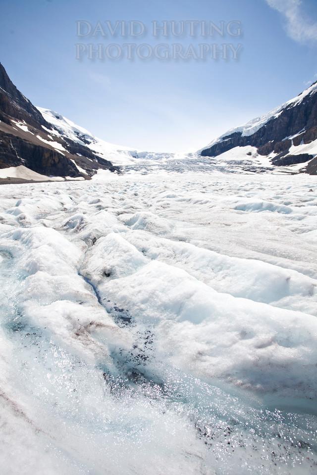Columbia Icefield Glacier vertical