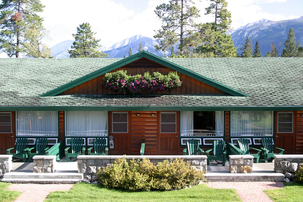 """Jasper Park Lodge, one of the cabins to rent<br /> <br />  <a href=""""http://www.fairmont.com/jasper"""">http://www.fairmont.com/jasper</a>"""