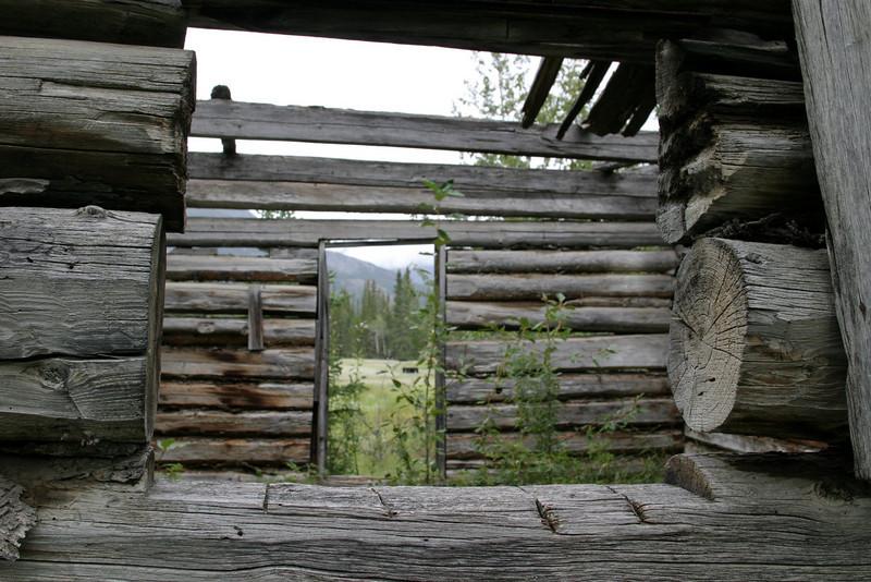Ewan Moberly Homsite, north of Jasper off hwy 16.