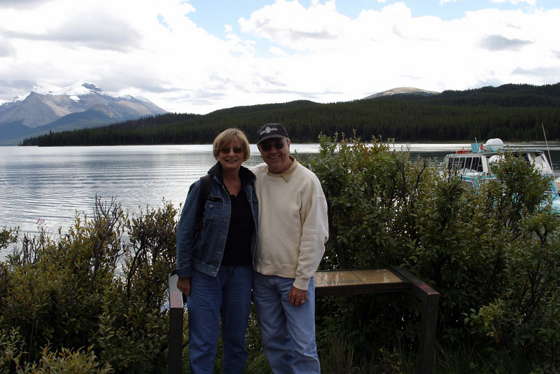 off township road 450A, at  Maligne Lake, Jasper National Park, Improvement District No. 12, AB T0E, Canada