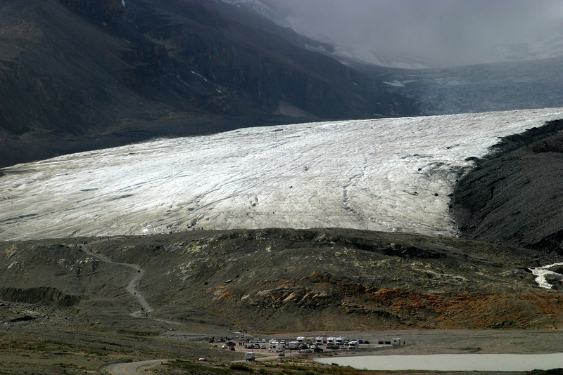 Athabasca Glacier, Columbia Icefield, Jasper National Park, off Icefields Hwy, Alberta.