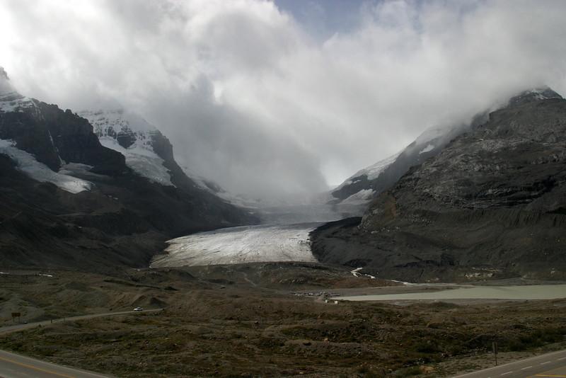 Athabasca Glacier, Columbia Icefield, Jasper National Park, Alberta.