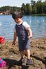 Rafa en el lago