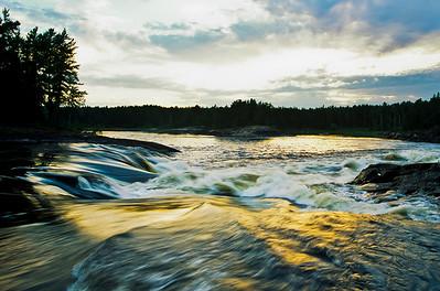 Anniversary Falls,  Pigeon River