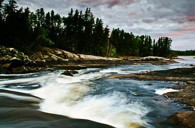 Bloodvein River.  Kakwachwanak Rapids