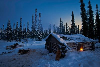 Trapper's cabin near Brochet
