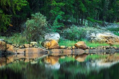Vickers Lake,  Pigeon River