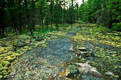 Portage trail,  Pigeon River