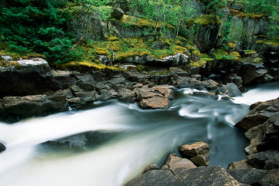 Rapids on the Bloodvein River