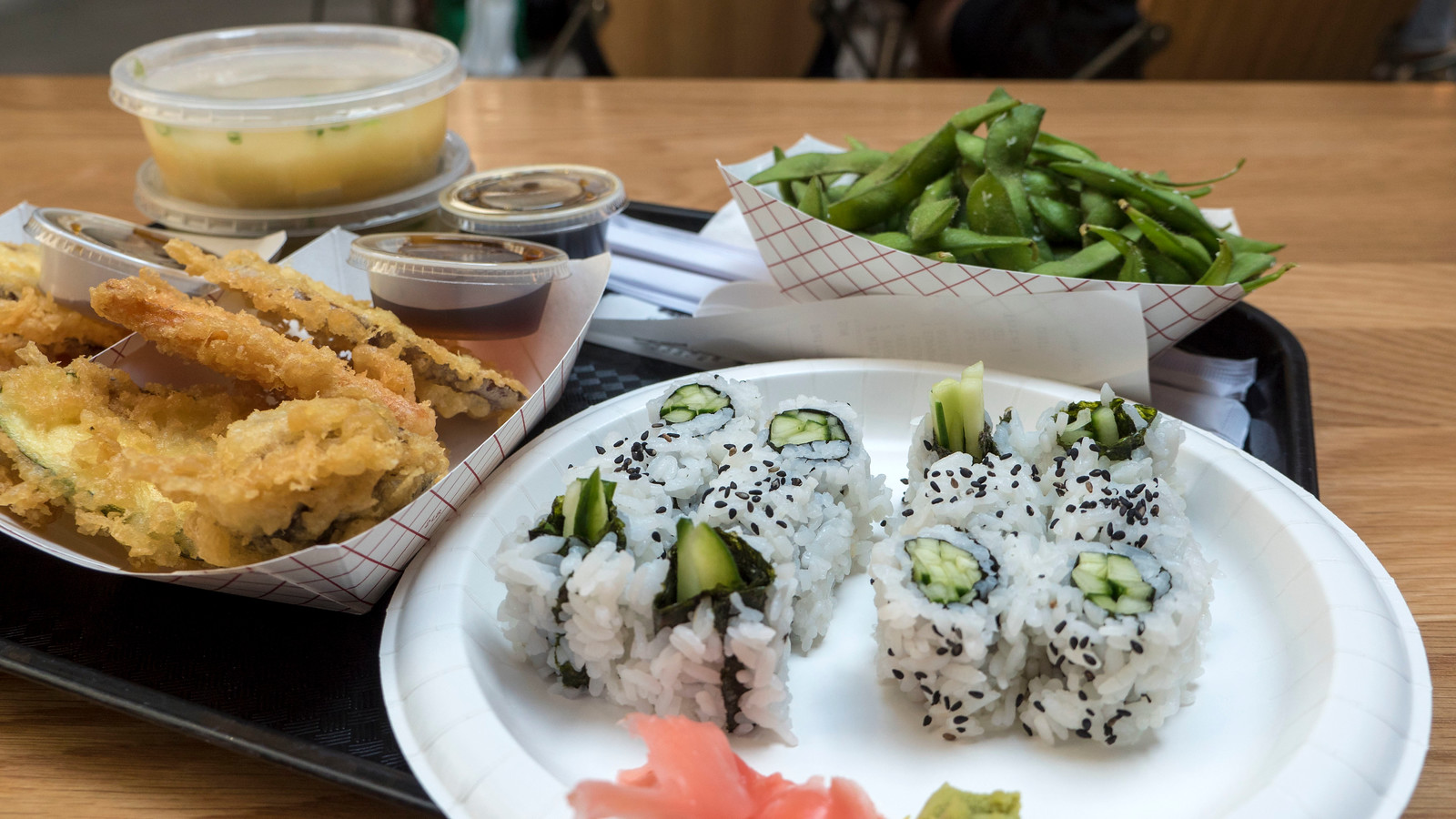 Vegan Restaurants in Winnipeg: A Winnipeg Vegan Guide - The Forks - Fusian Sushi Vegan Options