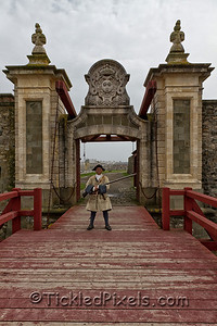 Dauphin Gate, Fortress of Louisbourg