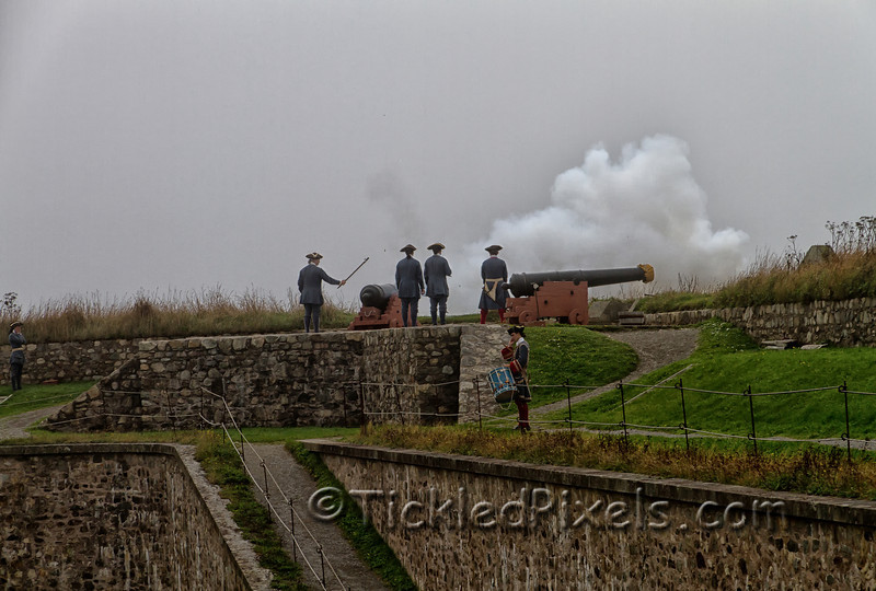 Cannon Fire at Louisbourg