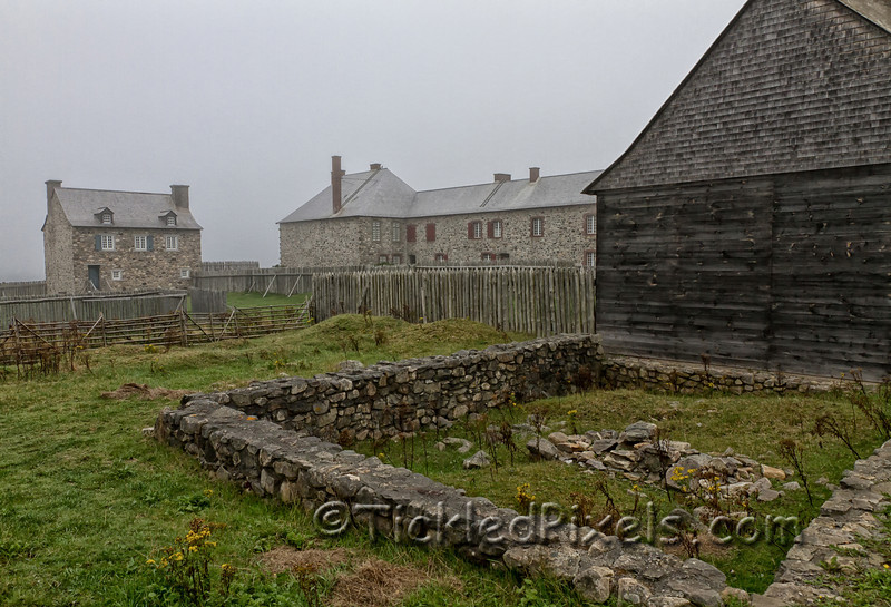 Remains of the House of Joseph Dugas  at the Fortress of Louisbourg